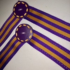 Lindsay Phillips Purple & Gold Straps